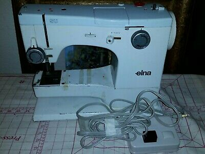 Elna SU supermatic Vintage Sewing Machine need repair