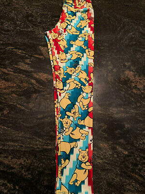 LuLaRoe TWEEN LEGGINGS DISNEY WINNIE THE POOH SUPER CUTE!!