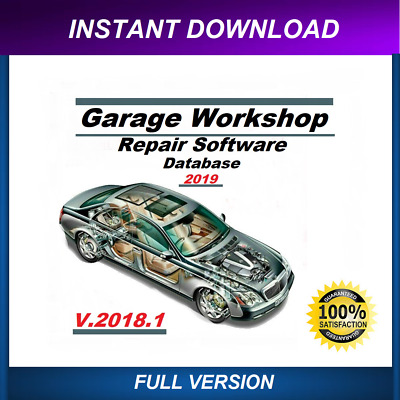 2019 Garage Workshop Repair Database instant download