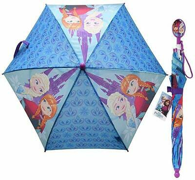 United Pacific Designs Frozen girls Umbrella with Clamshell Handle Standard