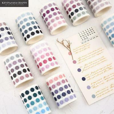 336 Pcs/lot Colorful Dots Washi Tape Stationery Decorative Stickers Tapes
