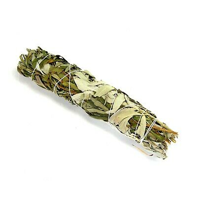 "ONE 8-9"" California White Spirit Sage and Lavender Natural Smudge Stick Incense"