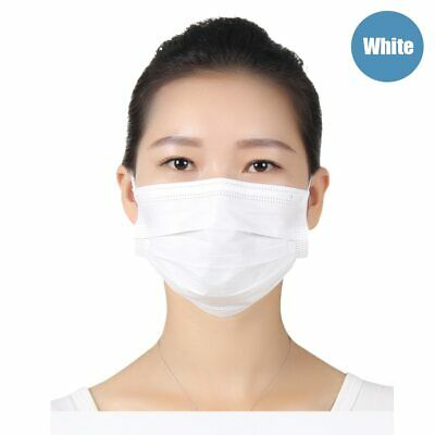50Pcs Medical Mask Disposable Face Mask Medical 3 LayerNon-woven Dust Proof