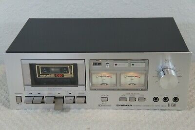 Pioneer Ct-F500 Stereo Cassette Deck - Bench Checked,Serviced, Fully Tested