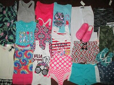 Girls HUGE!! Size 6 6X 7 Spring Summer & School  Name Brand Clothing Lot  NEW