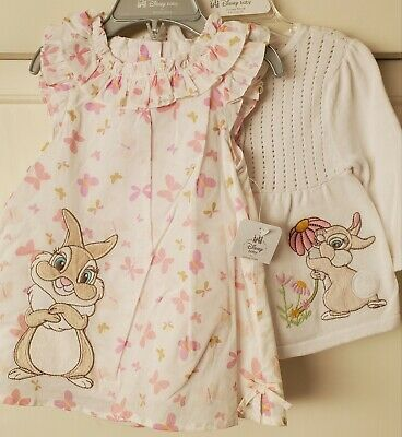 NWT Bambi Swim Cover Up  Disney Furrytale friends Flower Thumper SIZE 4T