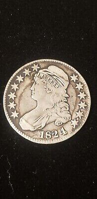 1824/4 Capped Bust Half Dollar