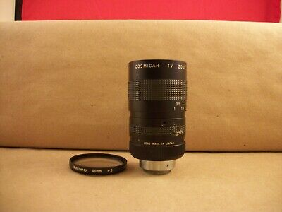 Cosmicar 12.5mm-75mm, f/1.8 TV Zoom Lens - No. 21101