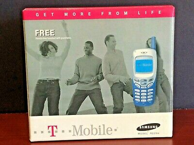 Vintage Samsung SGH R225M Welcome & User Guides, Hands-Free Headset, Box, More