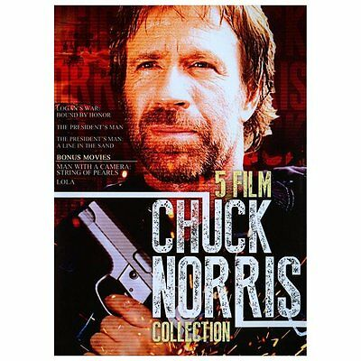 Chuck Norris Collection,(DVD), 4 films plus TV episode,w/ Charles Bronson
