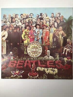 The Beatles Sgt Peppers Lonely Hearts Club Band Australian Vinyl PCSO.7027