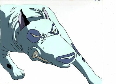 Hakugei Legend of Moby Dick original Japanese animation cel w/douga A15