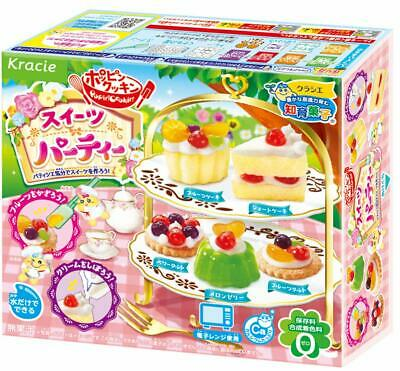 KRACIE POPIN COOKIN SWEETS PARTY KIT DIY Japanese Candy Cakes Desse From jap