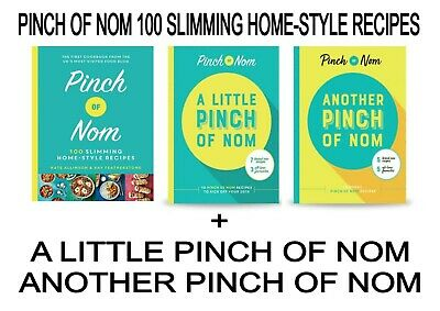 Pinch of Nom 100 Slimming Home-style Recipes + Little Pinch & Another (ON CD)