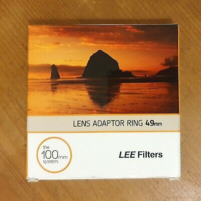 Lee Adaptor Ring 49mm for 100mm System - FREE POSTAGE