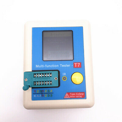Multi-Function IR Decoder Transistor Tester Electronic Component LCR-T7 LCR ESR