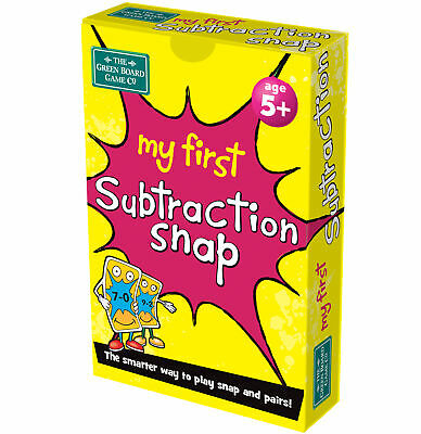 My First Subraction Snap and Pairs Card Game - Educational Game for Children ...