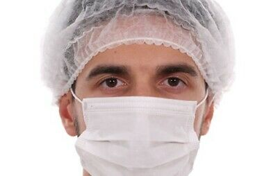 50 pcs White Disposable Anti Virus Dust Face Mouth Mask Breathable 2 Layer Masks