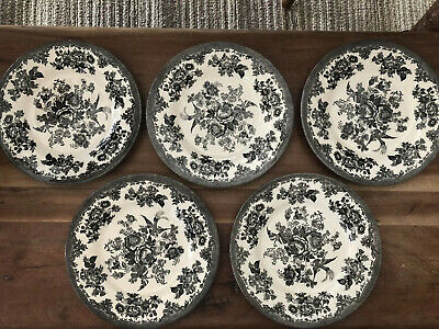 10820563 Royal Stafford ASIATIC PHEASANT TURQUOISE Chop Plate Round Platter