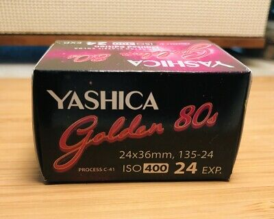 Yashica Golden 80s A - Color print film 135 (35 mm) ISO 400 24exp (5 rolls)