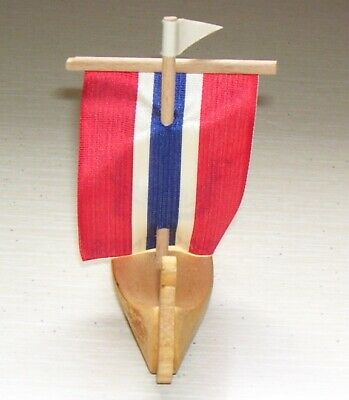 1980'S Norwegian Souvenirs From Epcot Center Disney World With Norwegian Flag