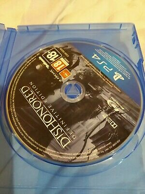 Dishonored (Definitive Edition Ps4 Game Disc)