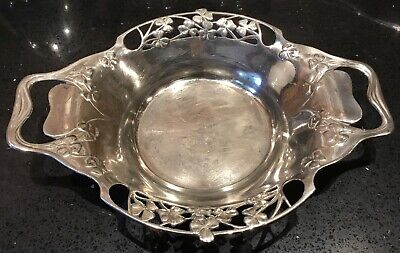 Antique stunning Pewter dish art nouveau tudric Liberty.