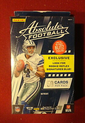 2017 Absolute Football Sealed Unopened Hanger Box