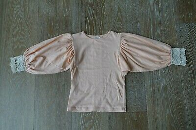 Persnickety Girls Anna Jean Top in Pale Peach Size 3 EUC