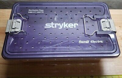 STRYKER 6400-277-000 RemB Electric Sterilization Case (Case Only)