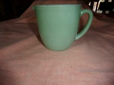 Vintage Fire King Jadeite Jadite 20 oz. 4 1/2 in. milk pitcher