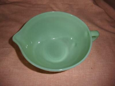 Vintage Fire King Jadeite Jadite batter bowl