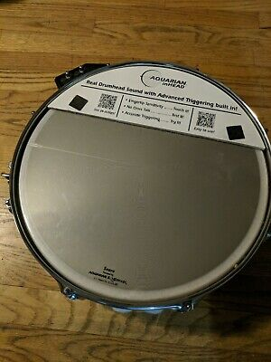 """PEARL 14"""" x 5"""" LIMITED EDITION SNARE DRUM IN CREAM COLOR"""