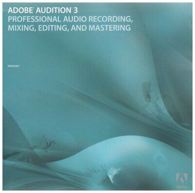 Audition 3  - ELECTRONIC INSTANT DELIVERY - WINDOWS