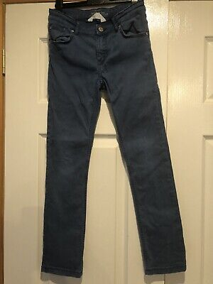 Boys blue Skinny Jeans Age 9-10 H&M