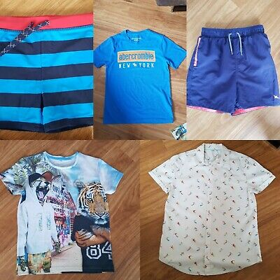 Boy's Summer / Holiday Bundle - 5 items ~ Marks & Spencer / Abercrombie ~ 9/10 Y