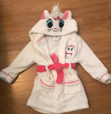 Disney Aristocats Marie Girls Dressing Gown Age 3