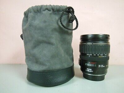 Canon EF 28-135mm f/3.5-5.6 IS Image Stabilizer Ultrasonic Zoom w/ Lens Caps