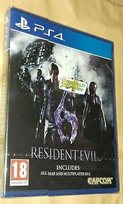 Resident Evil 6 HD Remake Inc ALL Map & Multiplayer DLC Playstation 4 PS4 SEALED