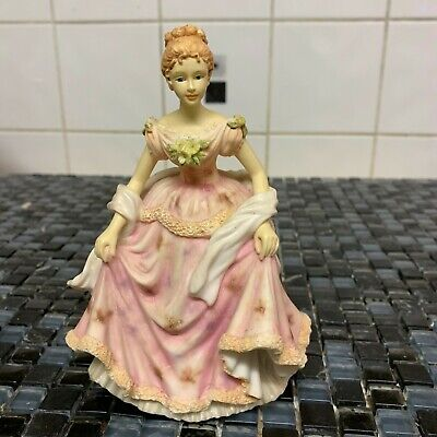 "The Leonardo Collection ""Sarah"" Porcelain Figurine 1996 Mint Condition"