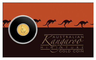 2020 P Australia 0.5 g Gold Mini Kangaroo $2 Coin GEM BU SKU60558