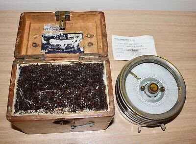 Vintage Toulet Racing Pigeon Automatic Timing Clock Boxed