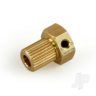 RC MOTOR COUPLING 2.0mm to 2.0mm MODEL BOAT