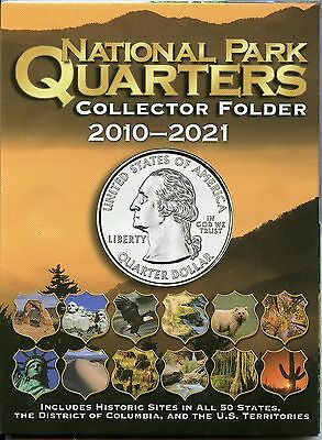 Coin Folder National Park Quarter 2010 - 2021 America ATB Beautiful Set Album