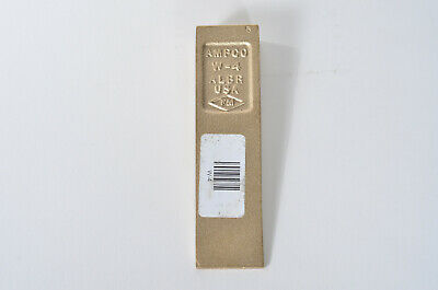 "AMPCO W-4  Brass Non Sparking Wedge 1-1/2"" X 6"" X 3/4"""