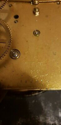 Antique Foreign clock mechanism with 9 hammers very rare!Spair and repairs!