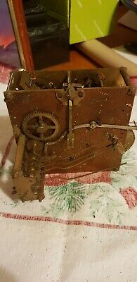Antique Clock mechanism for spair and repairs!
