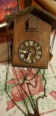 Black forest antique cuckoo clocks spair and repairs