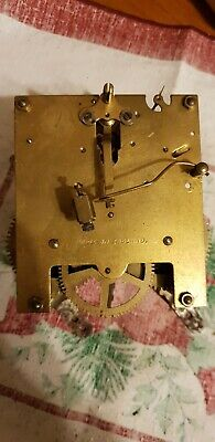 Antique English clock movement for spair and repairs!