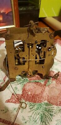 Antique Phillipe Haas and Soehne clock movement for spair and repairs!